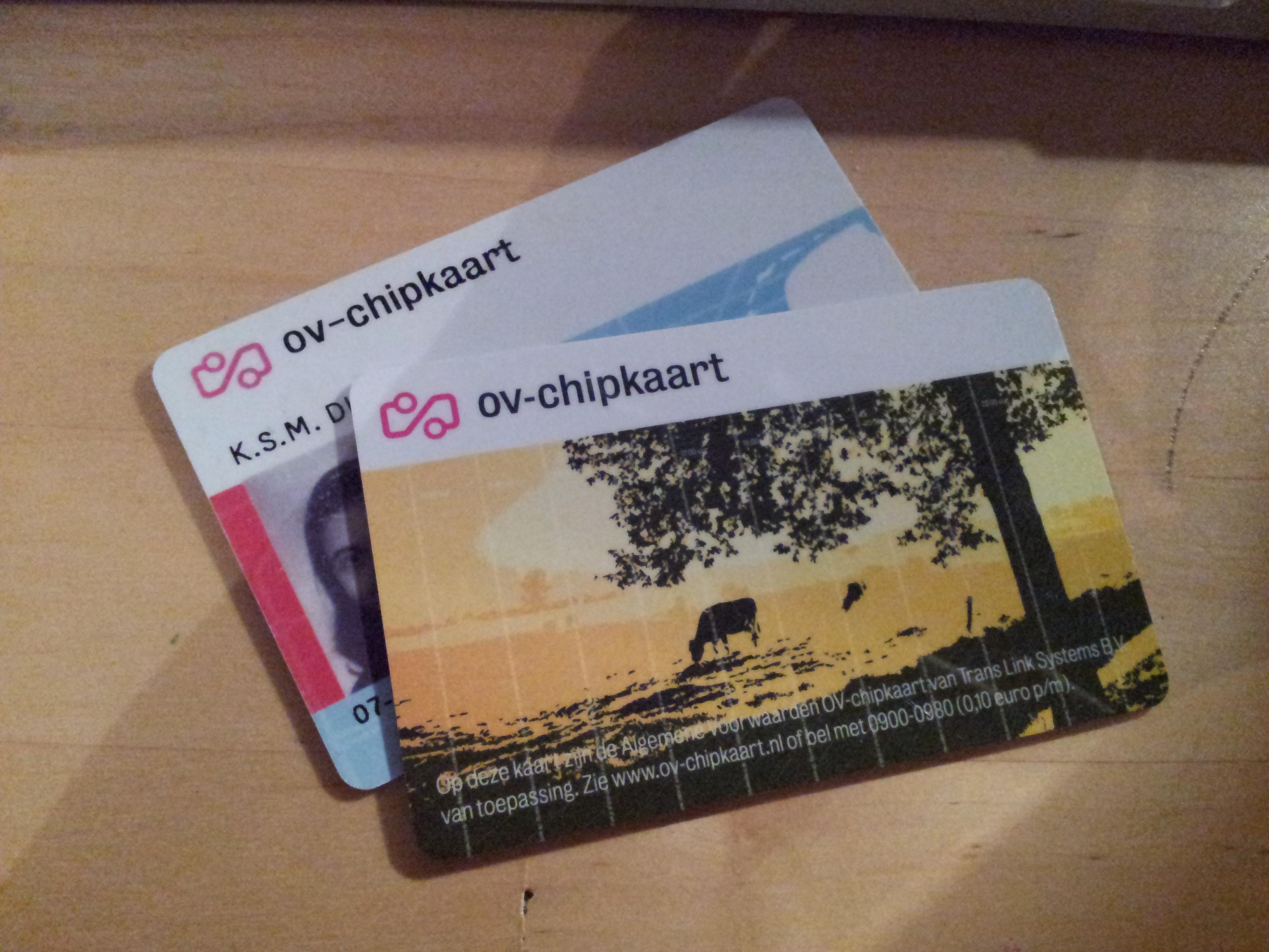 OV-chipkaart, ik ben nog niet klaar met je…