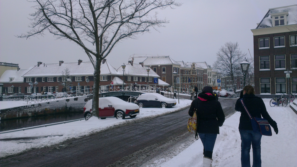 Tentamens en Sneeuw…