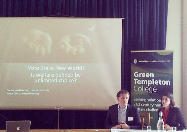 Oxford: mijn eerste conferentie