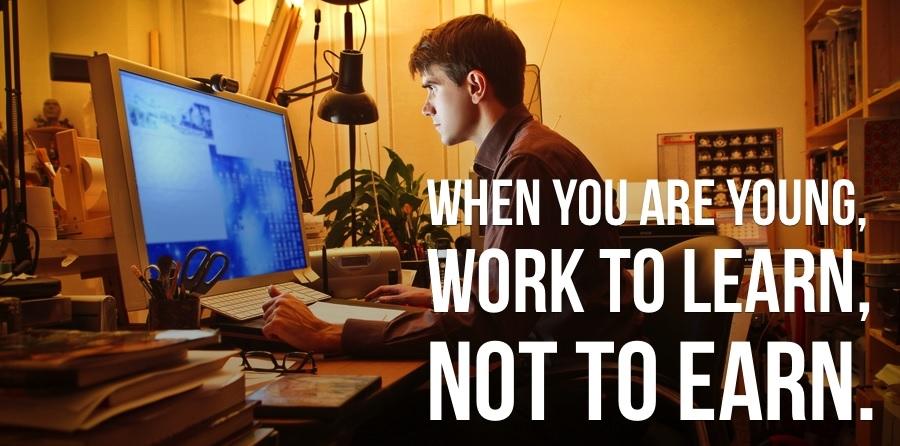 Werken kun je leren