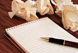 Schrijven tot je er bij neer valt