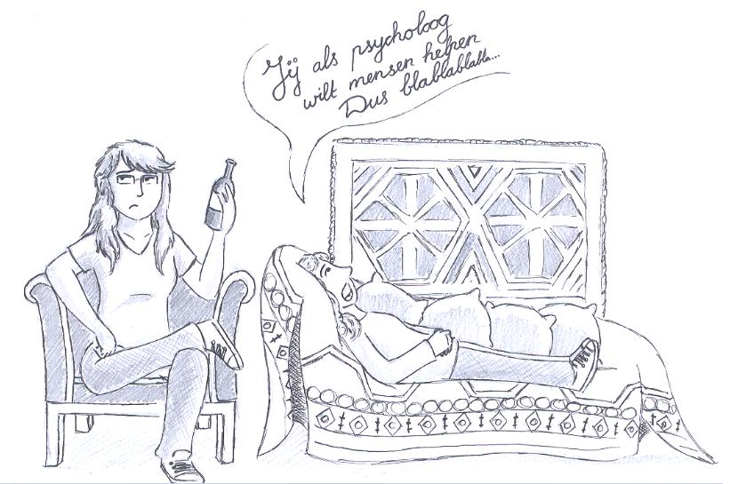 Daten op de sofa van Freud
