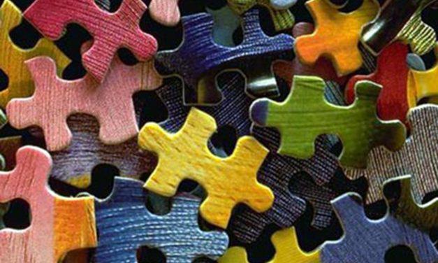 De puzzelstukjes van het leven