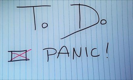 Last-minute paniek voor mijn master aanmelding