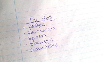 Prioriteiten stellen: de belangrijkste les van student zijn