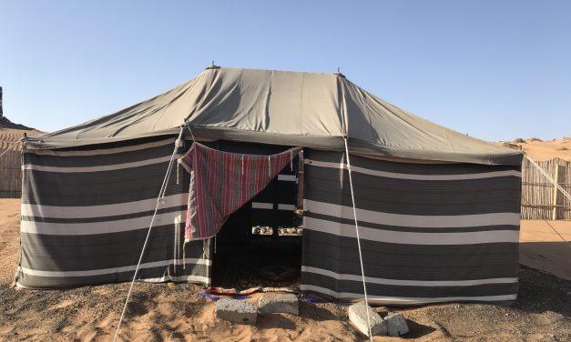 Oman deel 2: overnachten in de woestijn