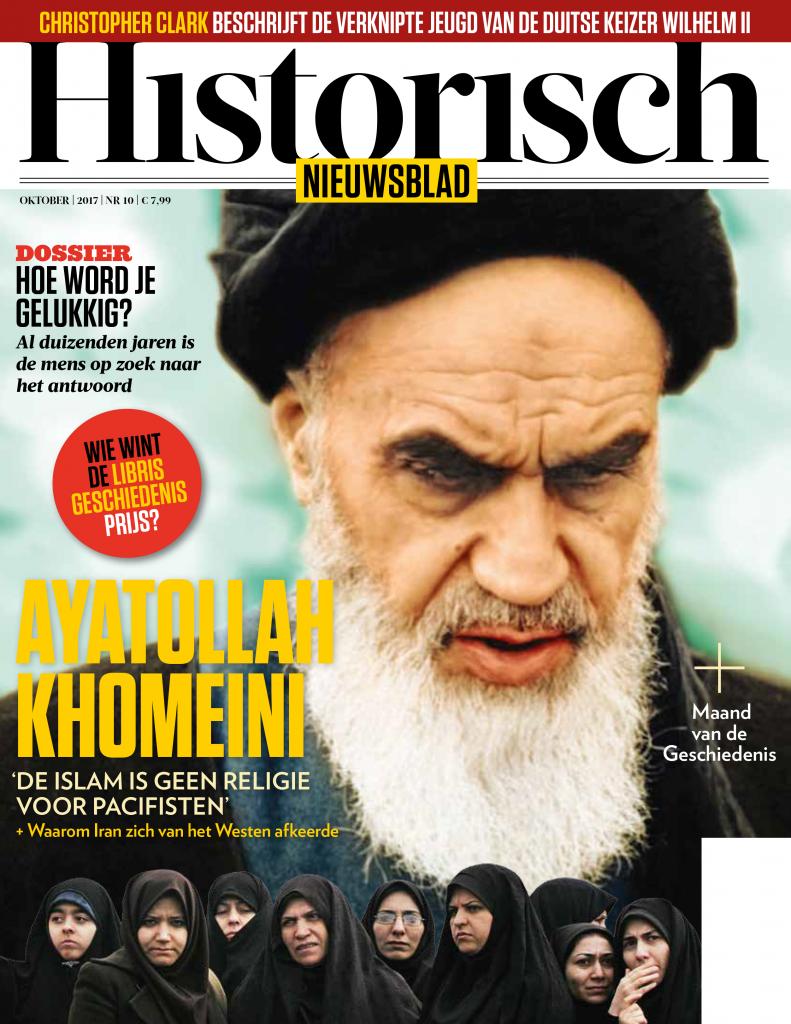 Ayatollah Khomeini had een knappe kop voor op de cover, vonden enkele dames van de redactie.