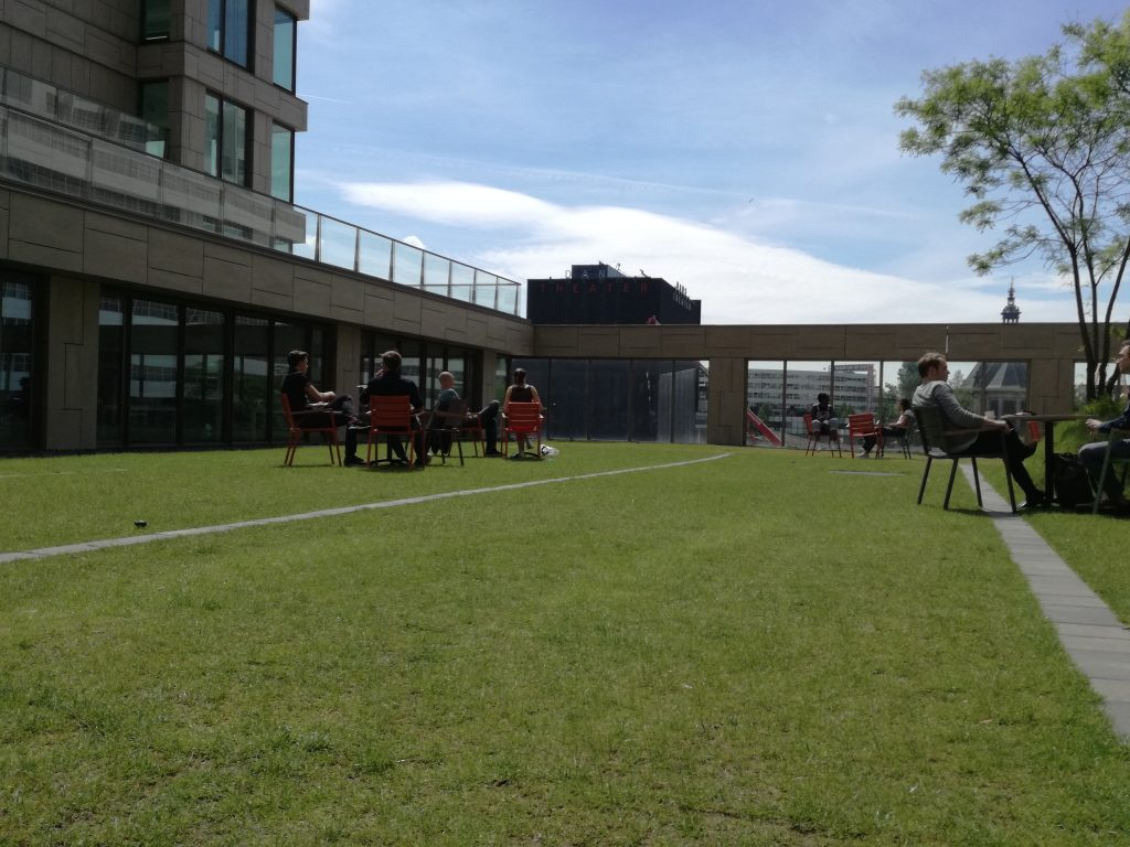 Oase in het midden van Den Haag