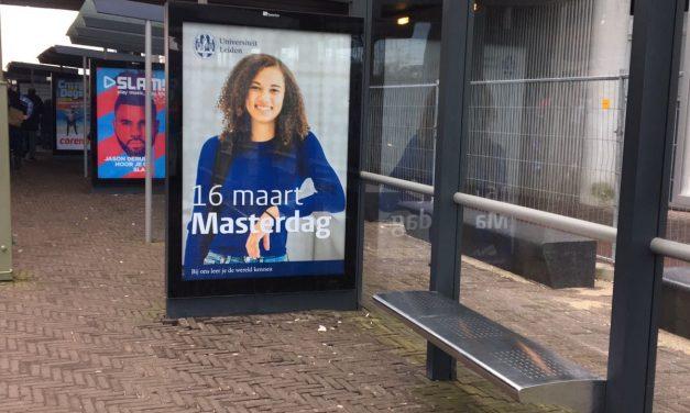 Van collegebanken tot reclameborden: Ik was het gezicht van de Masterdag