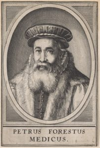 Portret van Petrus Forestus
