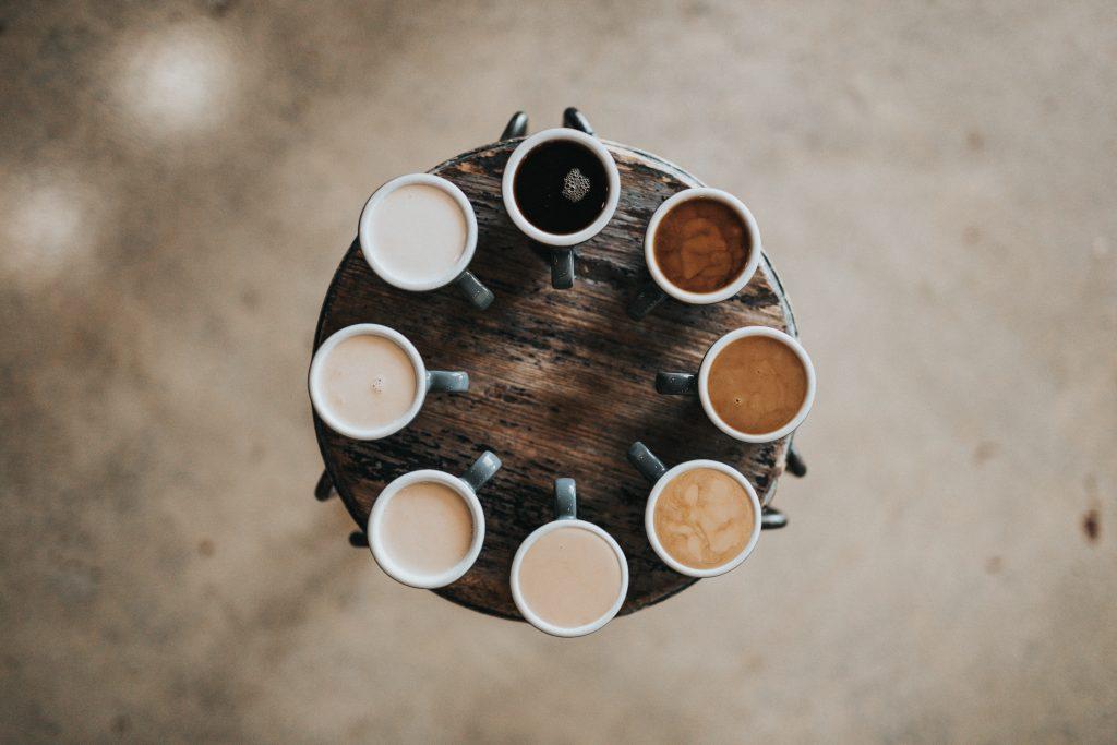 Welk kopje koffie kies jij?
