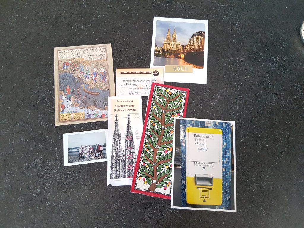 Souvenirs vanuit Iran, India, Berlijn en natuurlijk Keulen!