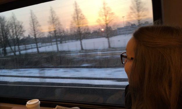 39 minuten voor jezelf: de trein is fijn!