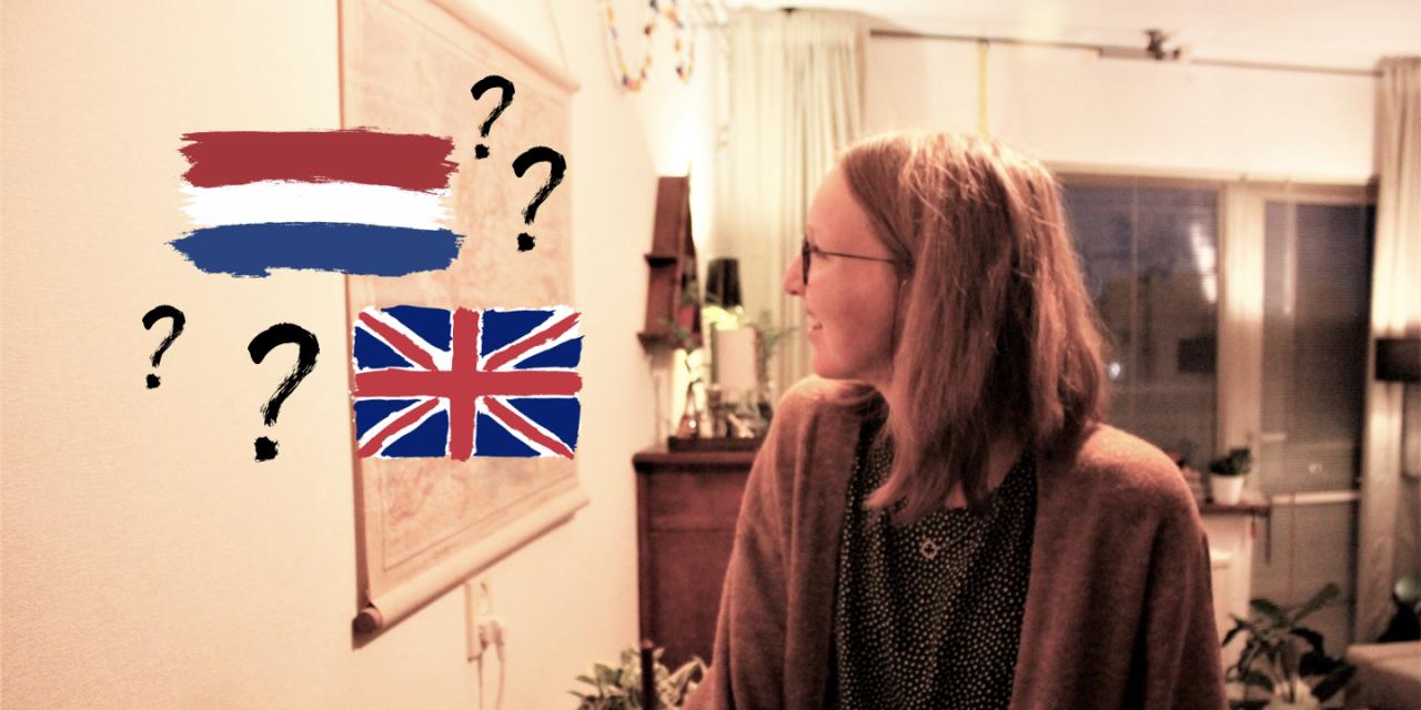 Een mengelmoesje van Nederlands en Engels