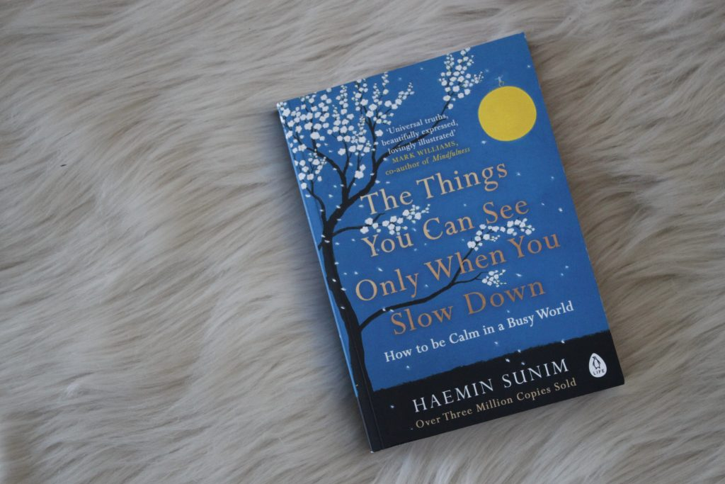 "Het boek ""The Things You Can See Only When You Slow Down"" van Haemin Sunim"