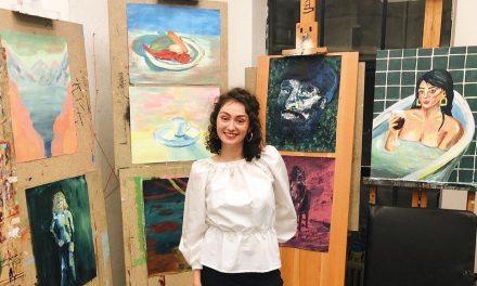 Ik volgde een vak schilderen aan de kunstacademie