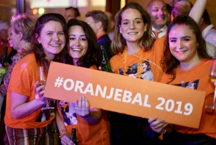 Koningsdag foto #Oranjebal 2019