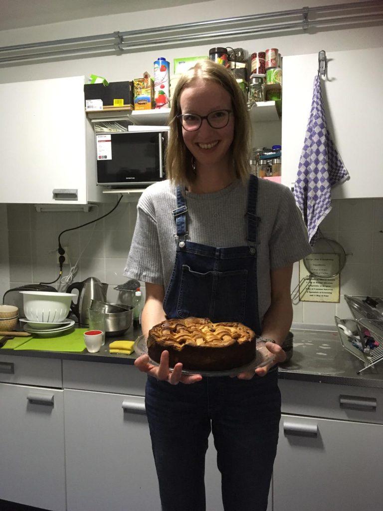 naast koken houd ik van bakken, zoals een appeltaart