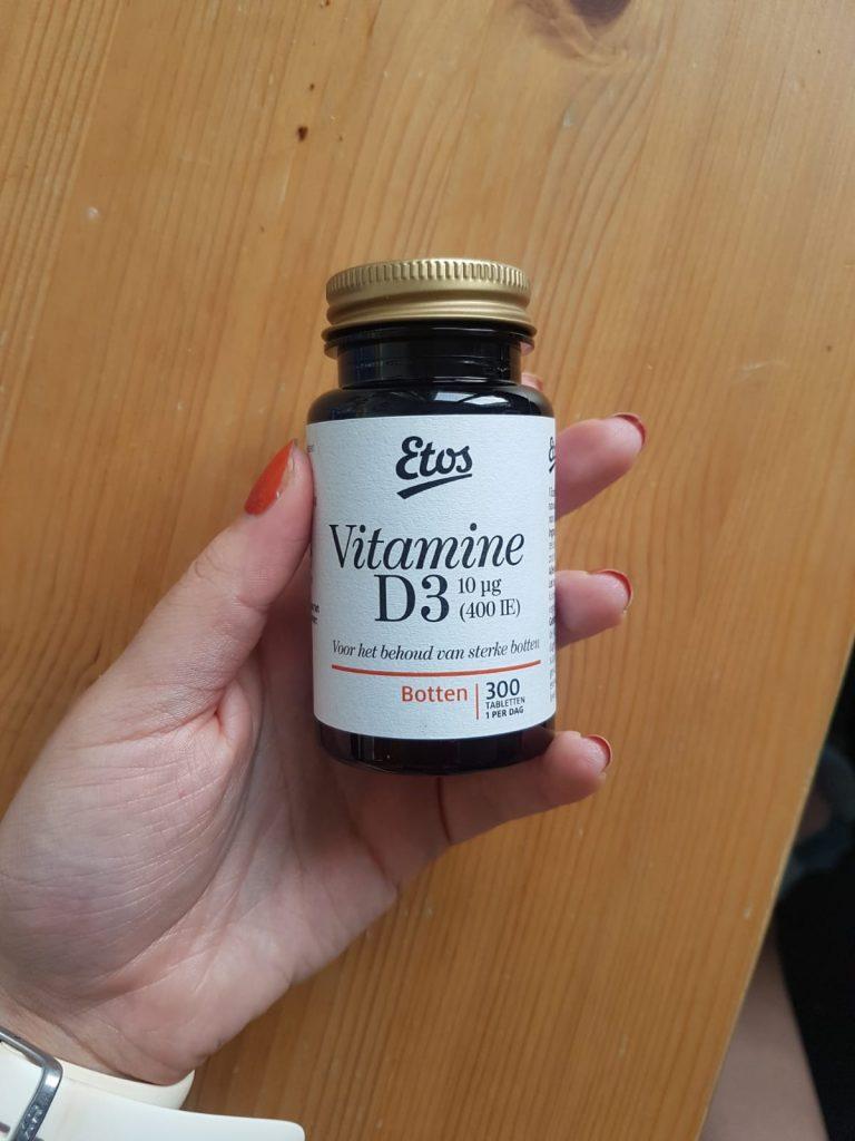Vitamine D3 van de etos, tegen winterdepressie